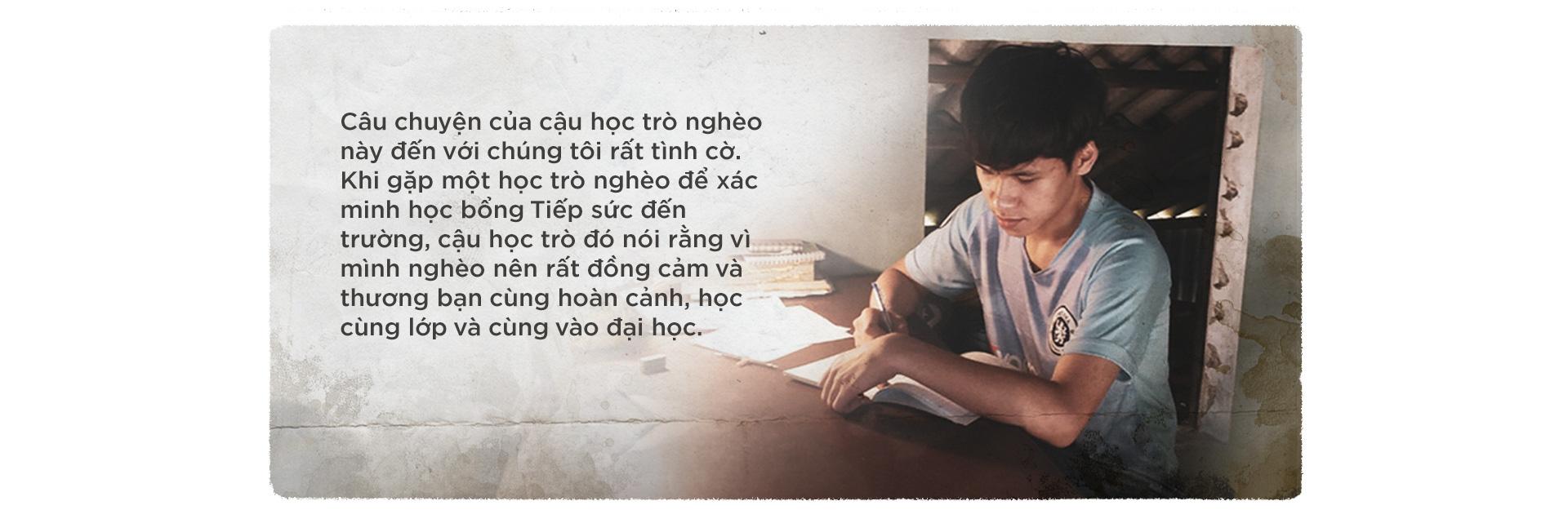 Tiếp sức đến trường: Dệt cói, trồng sắn và đeo đuổi ước mơ nghề nghiệp - Ảnh 4.