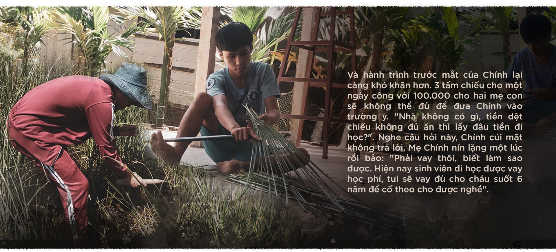 Tiếp sức đến trường: Dệt cói, trồng sắn và đeo đuổi ước mơ nghề nghiệp - Ảnh 5.