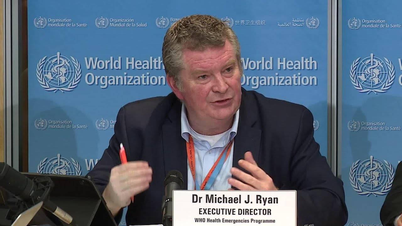 Ông Mike Ryan, giám đốc phụ trách tình trạng khẩn cấp của WHO
