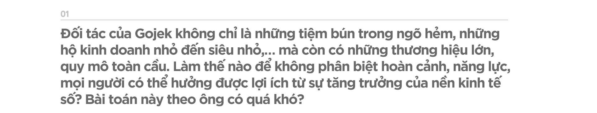 Tổng giám đốc Gojek Việt Nam: Trong nền kinh tế số, chúng tôi chia sẻ với đối tác - Ảnh 2.