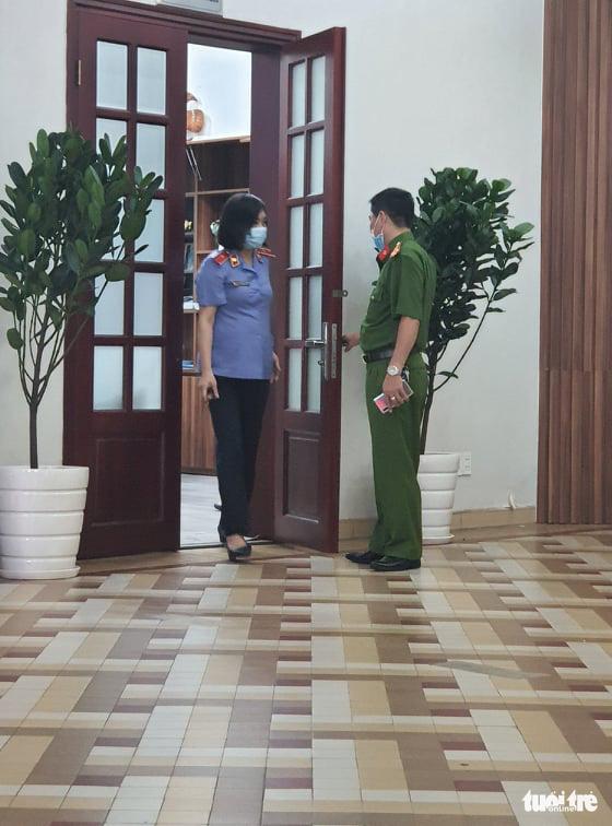 Bộ Công an khám xét Bệnh viện Mắt TP.HCM - Ảnh 4.