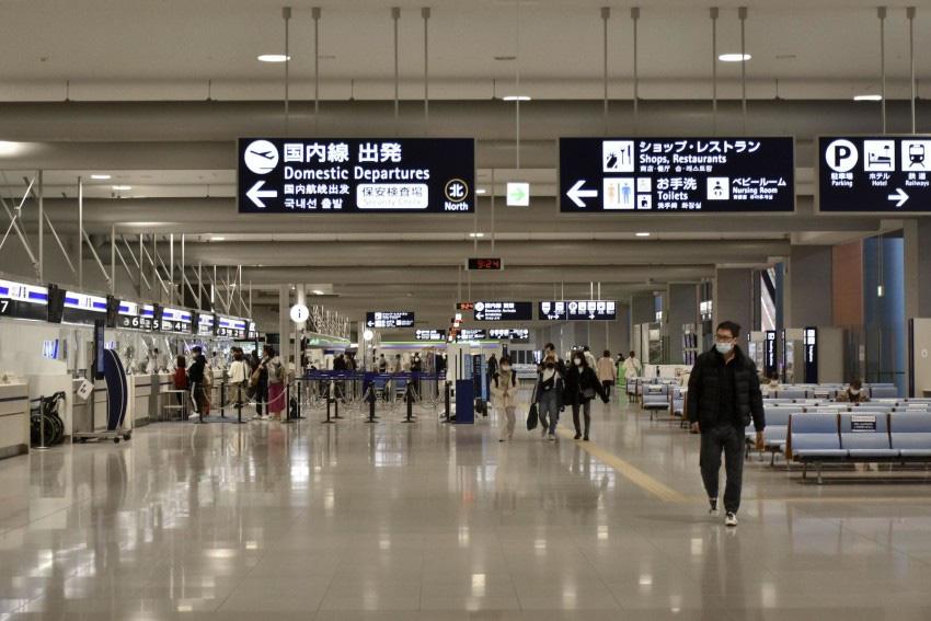 Nhật Bản: Thông báo tạm thời cấm công dân nước ngoài nhập cảnh