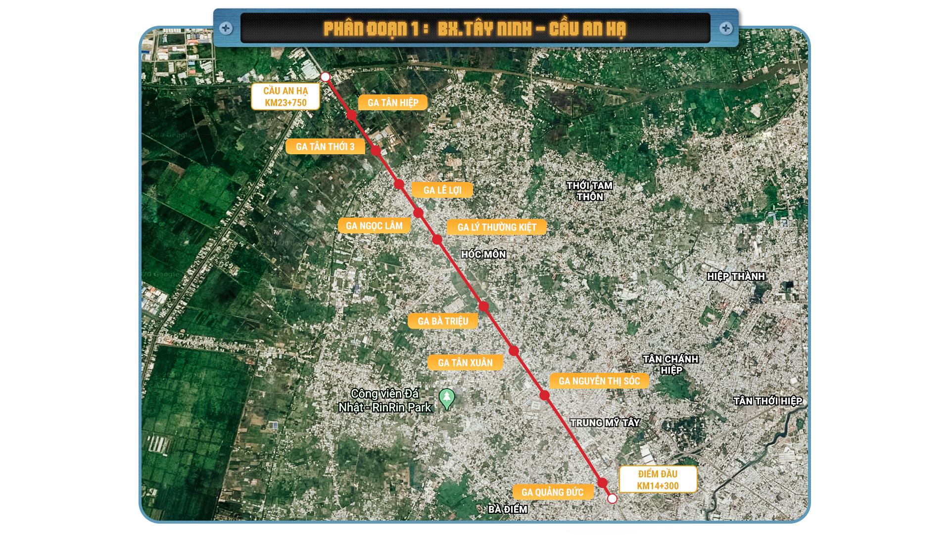 Metro số 2 Bến Thành  - Tham Lương tuyến metro xuyên tâm dài nhất TP.HCM - Ảnh 3.