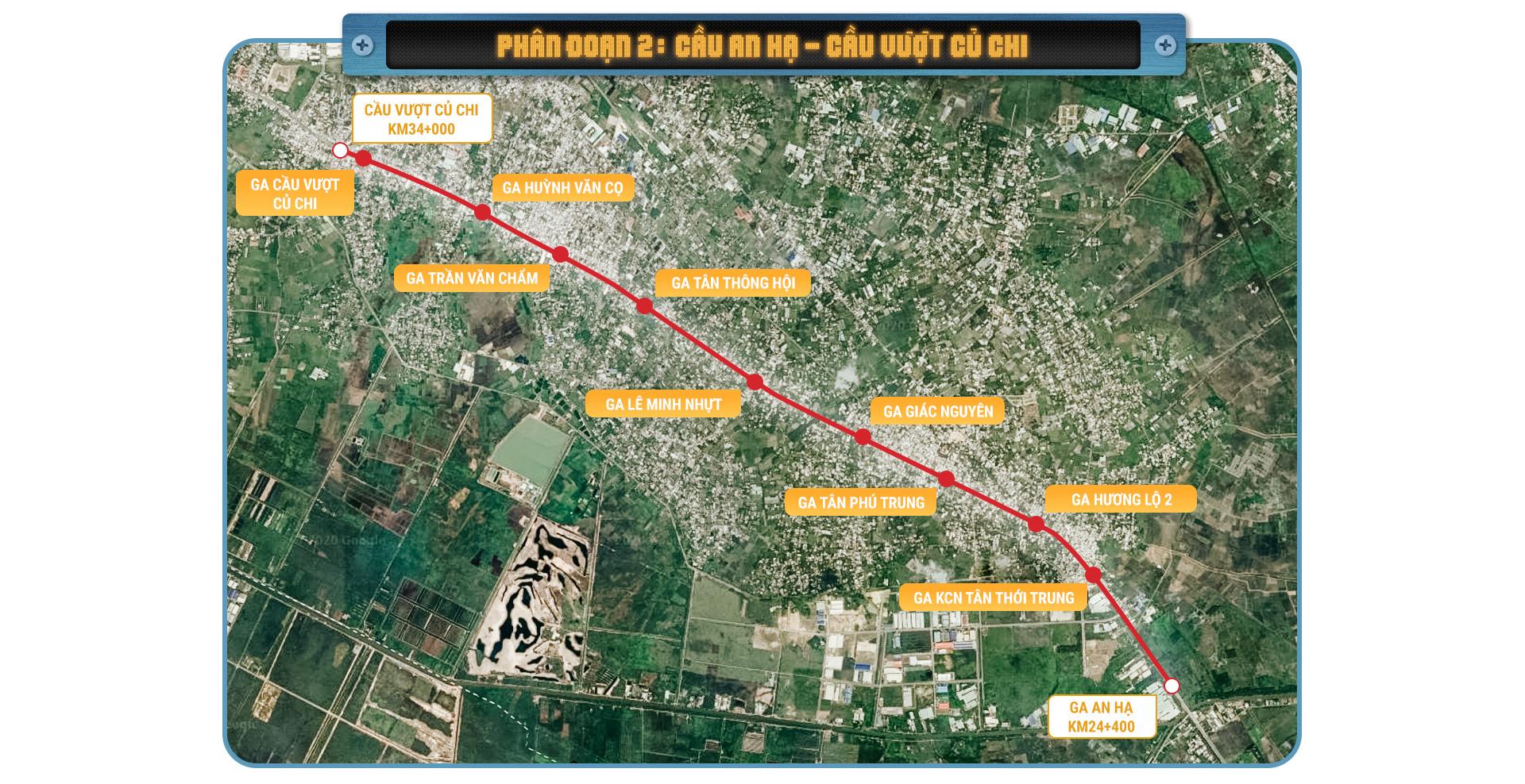 Metro số 2 Bến Thành  - Tham Lương tuyến metro xuyên tâm dài nhất TP.HCM - Ảnh 4.