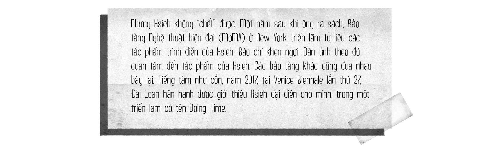Hsieh - tưởng là phí thời gian mà là quý thời gian - Ảnh 7.
