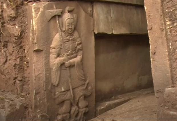 Trung Quốc phát hiện 4 ngôi mộ cổ có niên đại hơn 2.000 năm - Ảnh 1.