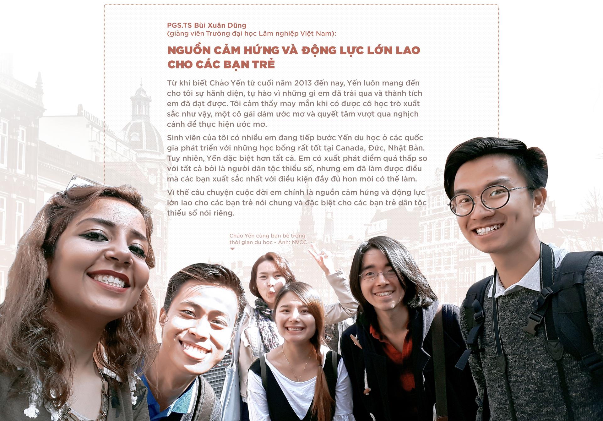 Chảo Yến: Từ bản người Dao đến học bổng châu Âu - Ảnh 8.