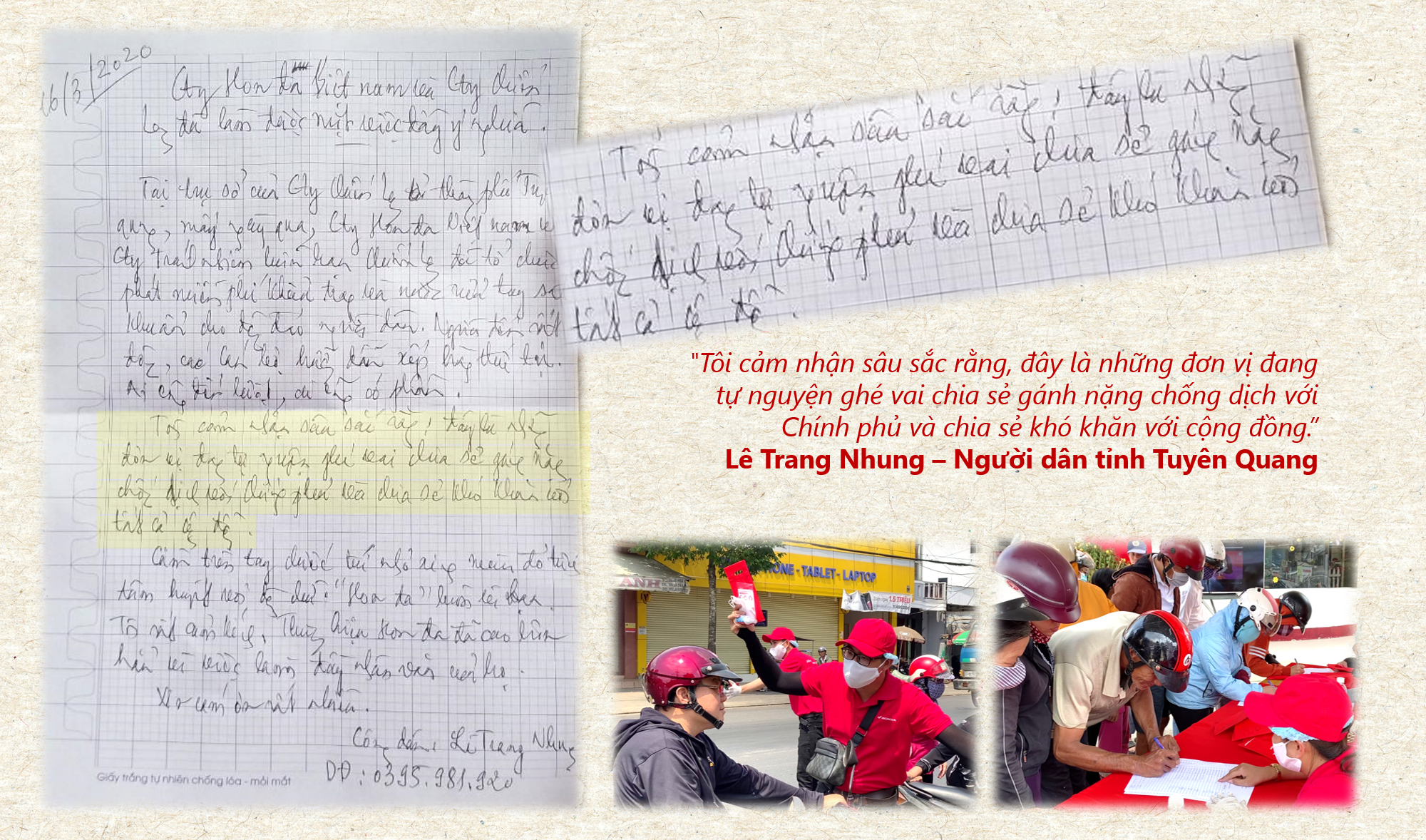 """""""Honda luôn vì bạn - cùng Honda đẩy lùi Corona"""" - Hành trình trao tặng 200,000 túi đỏ kỳ diệu - Ảnh 10."""