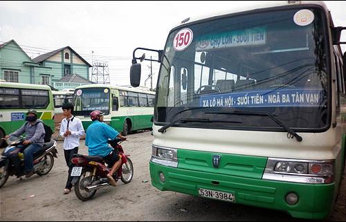TP.HCM ngưng hoạt động xe buýt liên tỉnh từ 0h 28-3, giảm 50% xe khách - Ảnh 1.