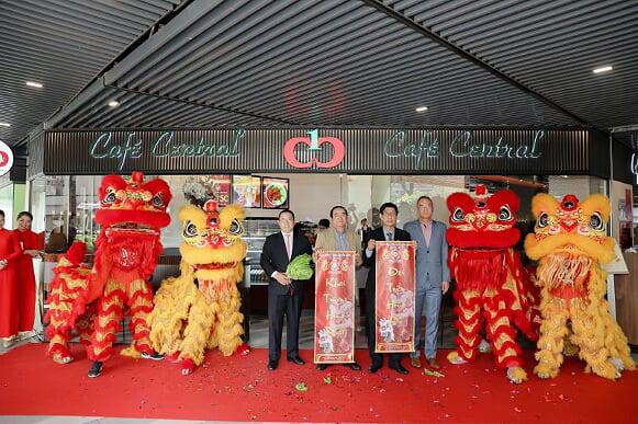 Café Central The Garden Mall chính thức ra mắt tại quận 5 - Ảnh 1.