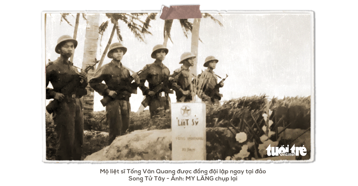 Kỳ 2: Những liệt sĩ đầu tiên ở Trường Sa - Ảnh 2.
