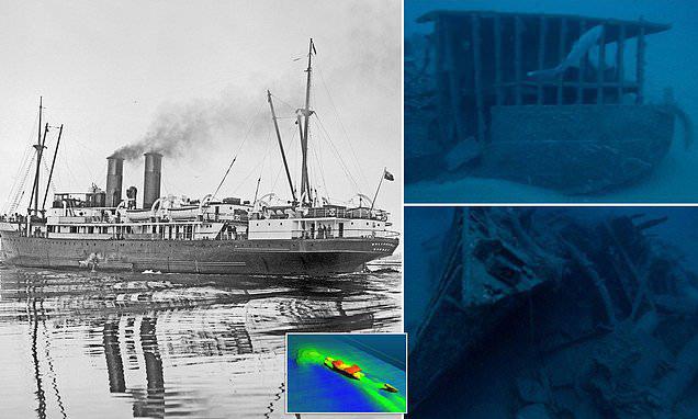 Phát hiện xác tàu chở hàng Australia bị đánh đắm trong Chiến tranh Thế giới thứ Hai - Ảnh 1.