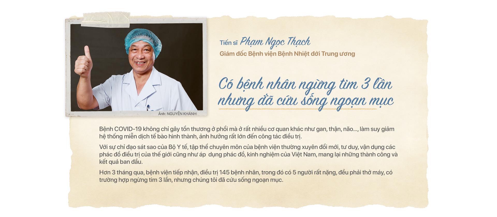 Ấn tượng Việt Nam: những khuôn mặt của tuyến đầu chống dịch - Ảnh 1.