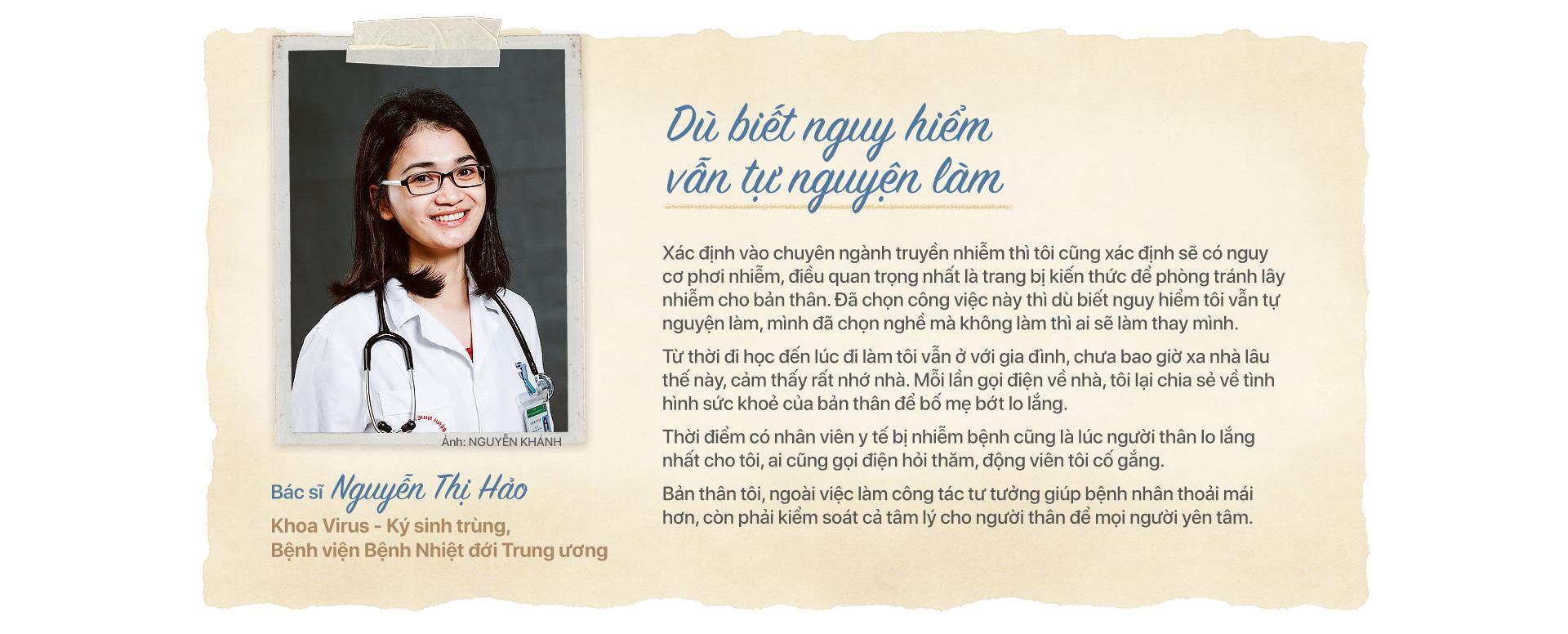 Ấn tượng Việt Nam: những khuôn mặt của tuyến đầu chống dịch - Ảnh 13.