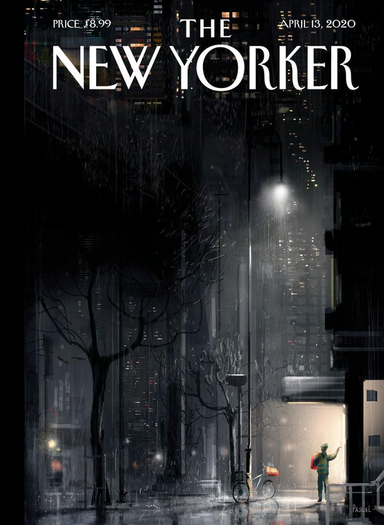 Tạp chí để trắng bìa với thông điệp ấn tượng mùa dịch Covid-19 - Ảnh 6.