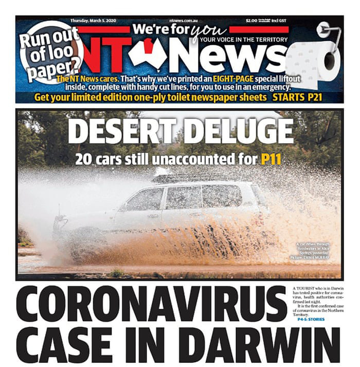 Tạp chí để trắng bìa với thông điệp ấn tượng mùa dịch Covid-19 - Ảnh 3.