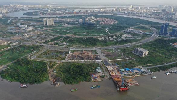 Bán đấu giá bốn lô đất ở khu đô thị mới Thủ Thiêm - Ảnh 1.