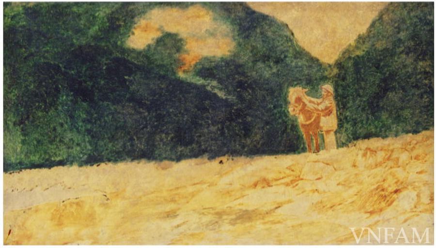 Ngắm tranh Bác Hồ của các danh họa Trần Văn Cẩn, Dương Bích Liên, Lê Bá Đảng - Ảnh 1.