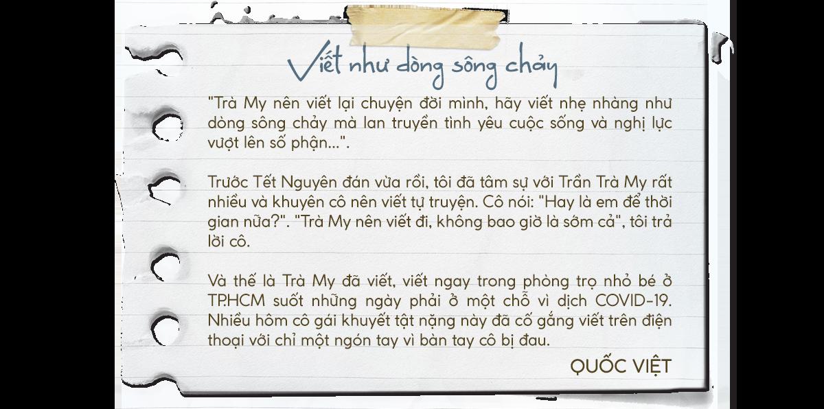 Tự truyện Trần Trà My: Tôi là thiên thần 6 chân - Ảnh 1.