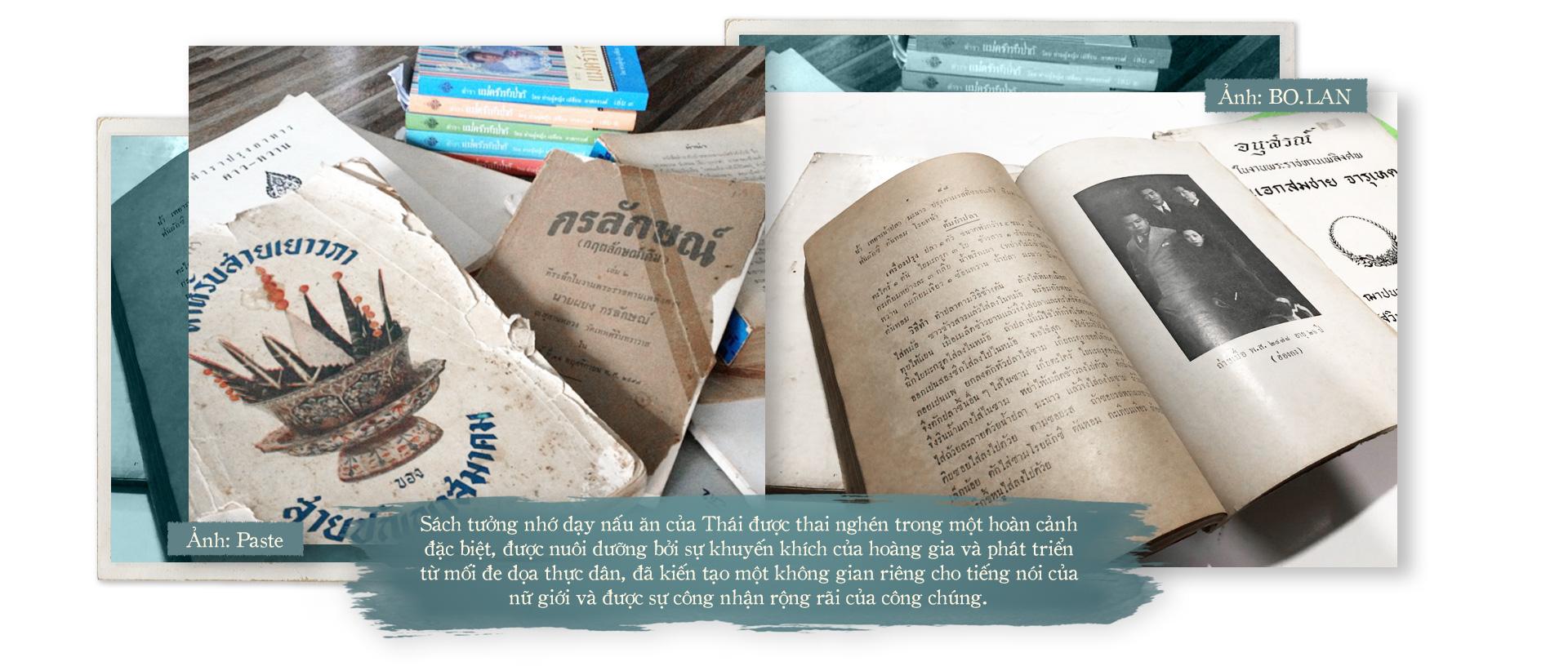 Sách tưởng nhớ: Lưu ký ức, giữ gìn bí quyết nấu ăn - Ảnh 4.
