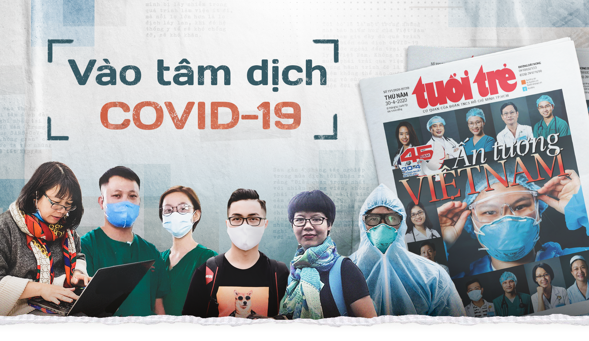 Vào tâm dịch COVID-19
