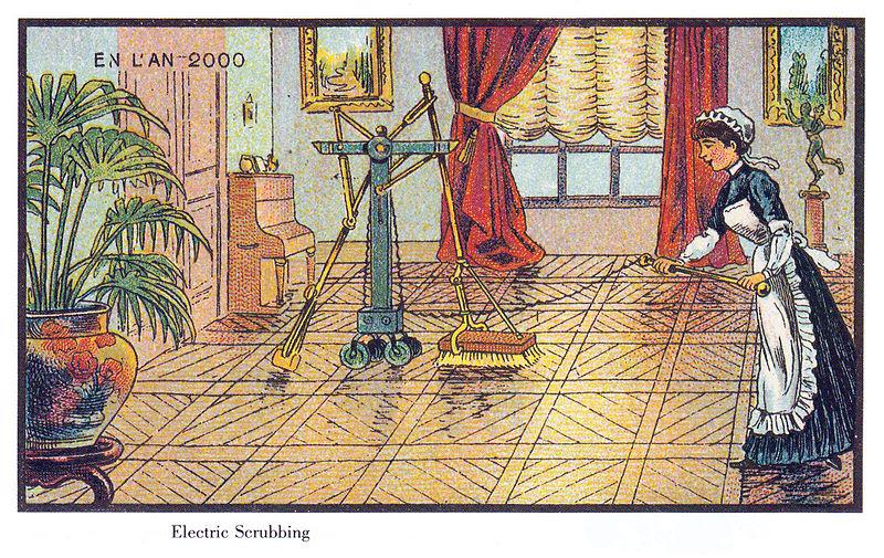 Bất ngờ khi ở thế kỷ 19, người ta đã vẽ máy bay trực thăng, máy lau nhà... - Ảnh 6.