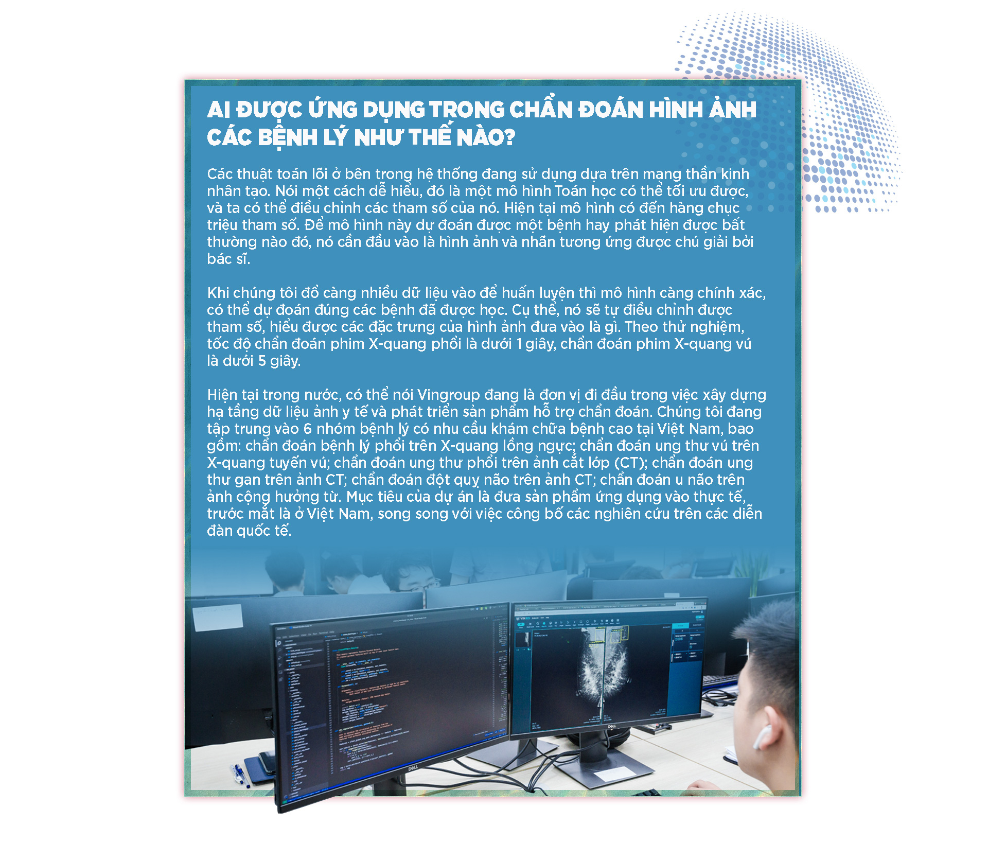 Bước tiến mới đưa trí tuệ nhân tạo vào chẩn đoán hình ảnh y tế tại Việt Nam - Ảnh 7.