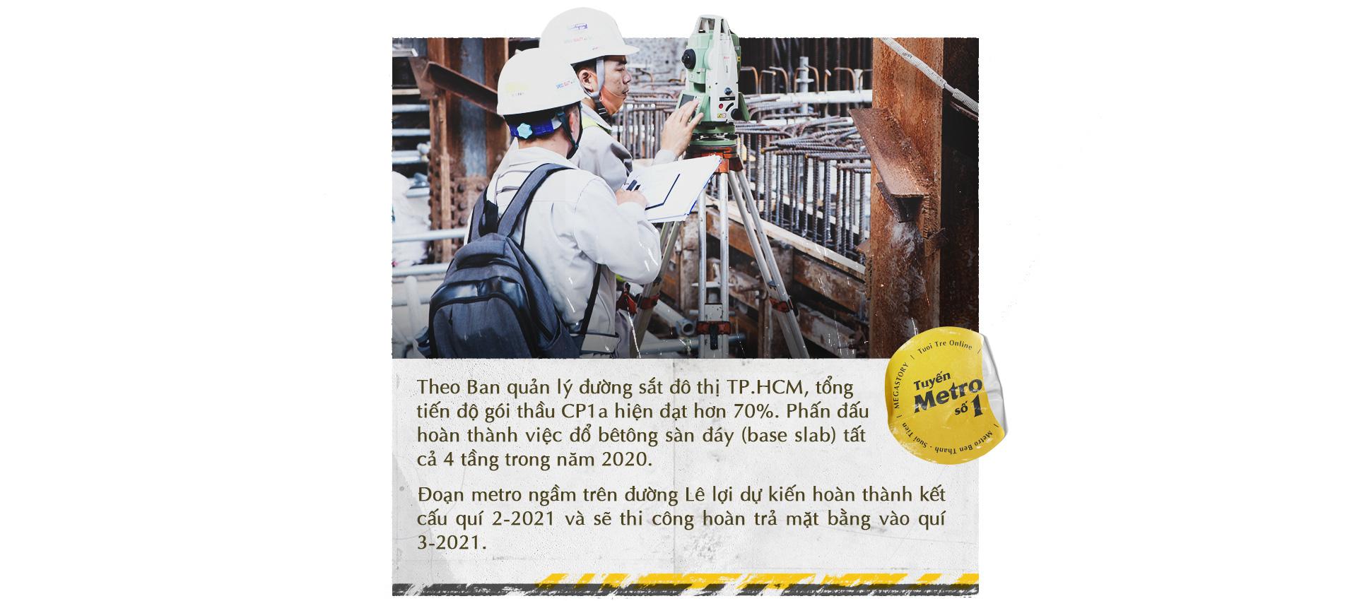 Xuống lòng đất Sài Gòn, khám phá trái tim công trình metro ngầm - Ảnh 10.