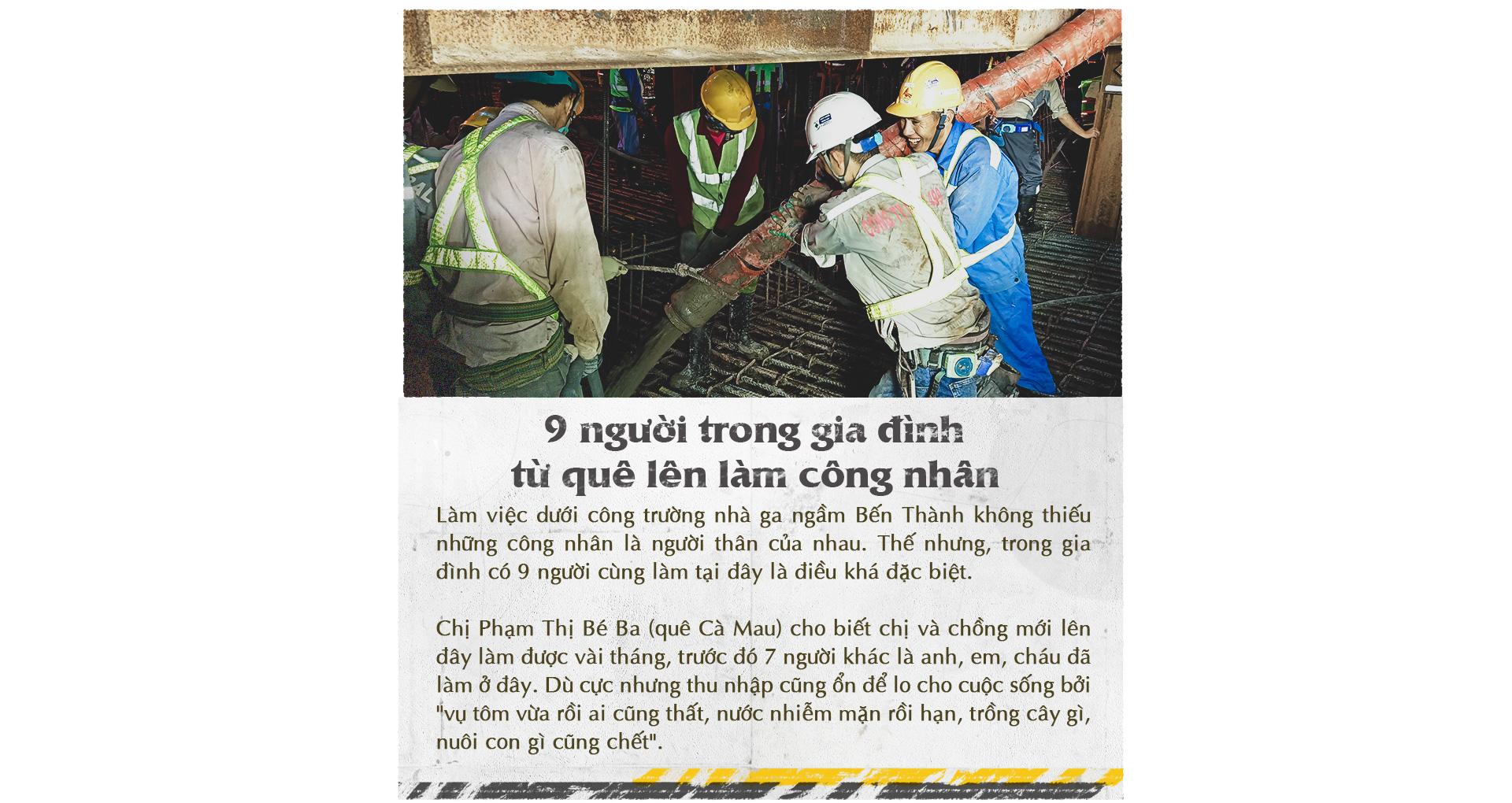 Xuống lòng đất Sài Gòn, khám phá trái tim công trình metro ngầm - Ảnh 15.