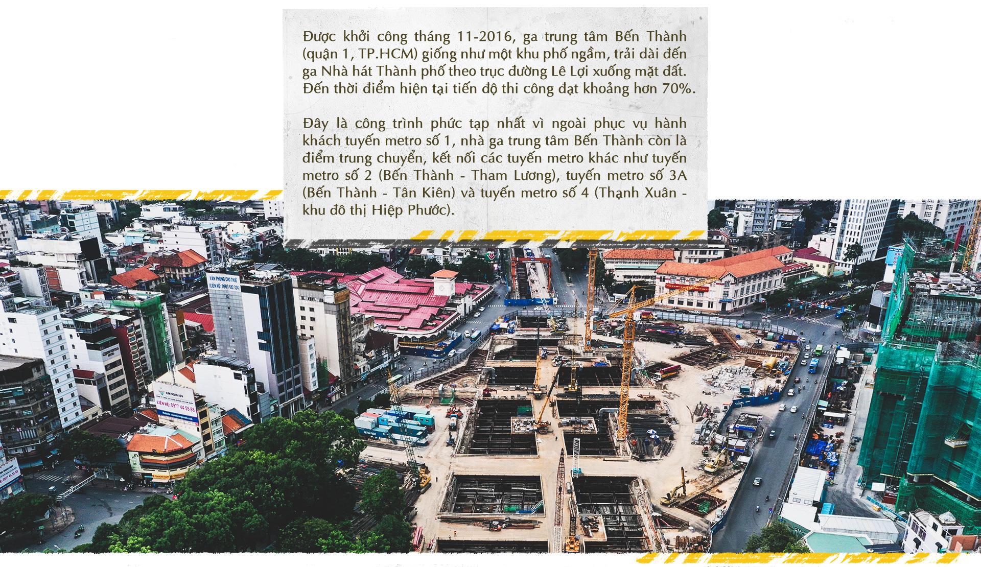 Xuống lòng đất Sài Gòn, khám phá trái tim công trình metro ngầm - Ảnh 2.