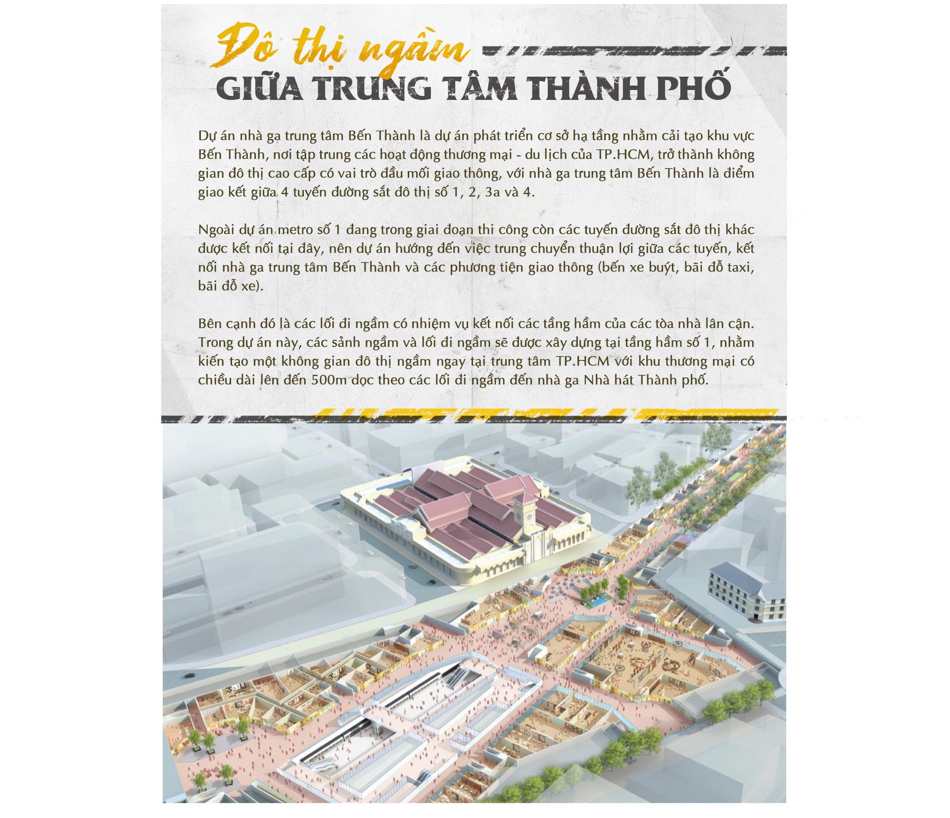 Xuống lòng đất Sài Gòn, khám phá trái tim công trình metro ngầm - Ảnh 1.