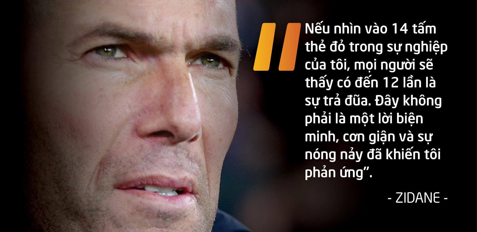 Zidane – 14 tấm thẻ đỏ, rèn nên vị thần chiến thắng - Ảnh 10.