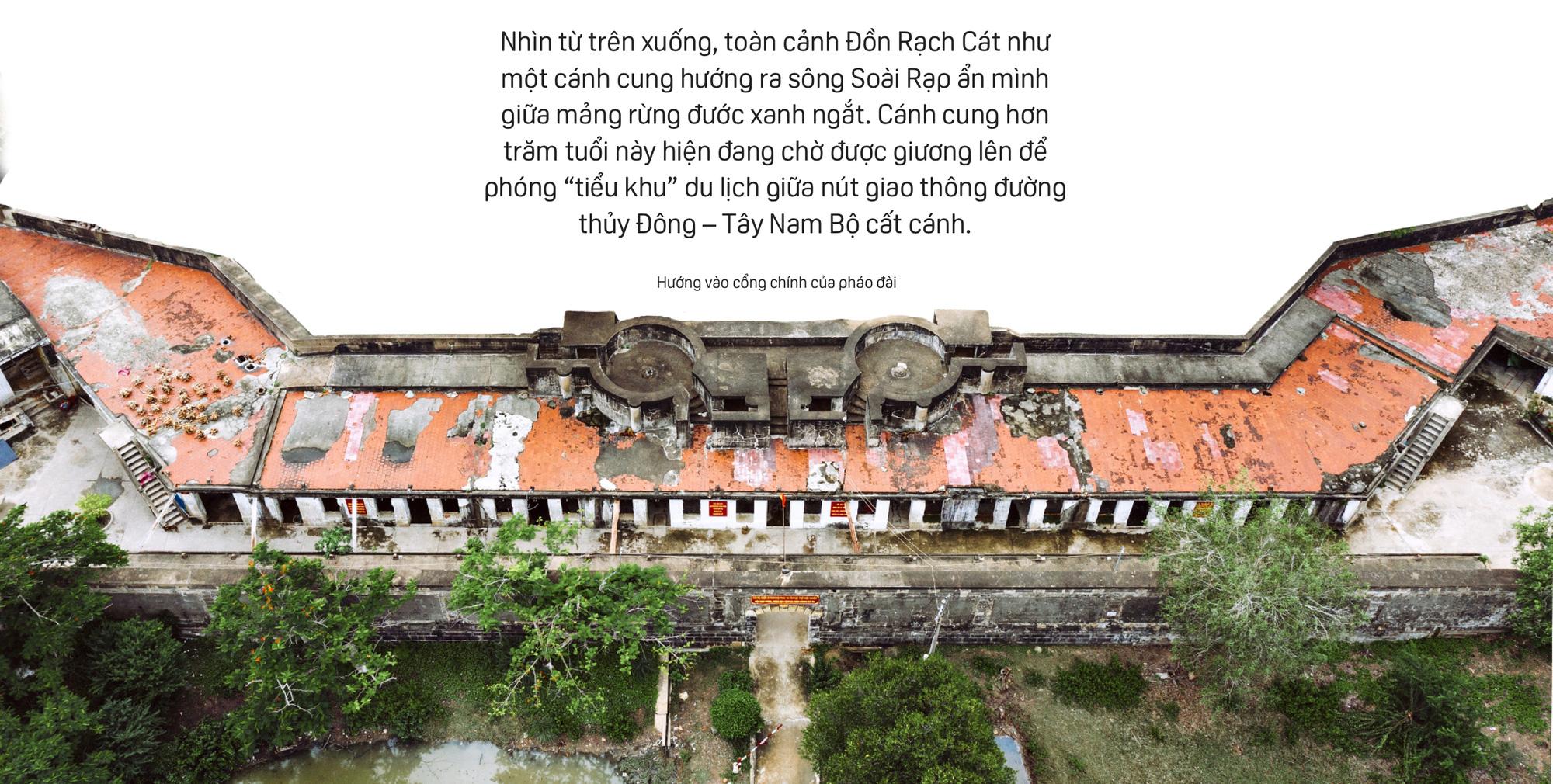 Bên trong Đồn Rạch Cát - pháo đài lớn nhất Đông Dương - Ảnh 2.