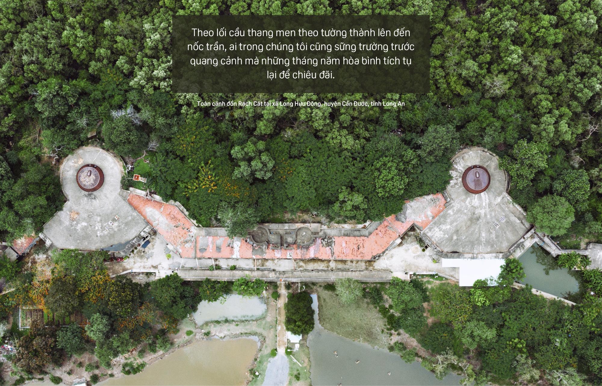 Bên trong Đồn Rạch Cát - pháo đài lớn nhất Đông Dương - Ảnh 7.