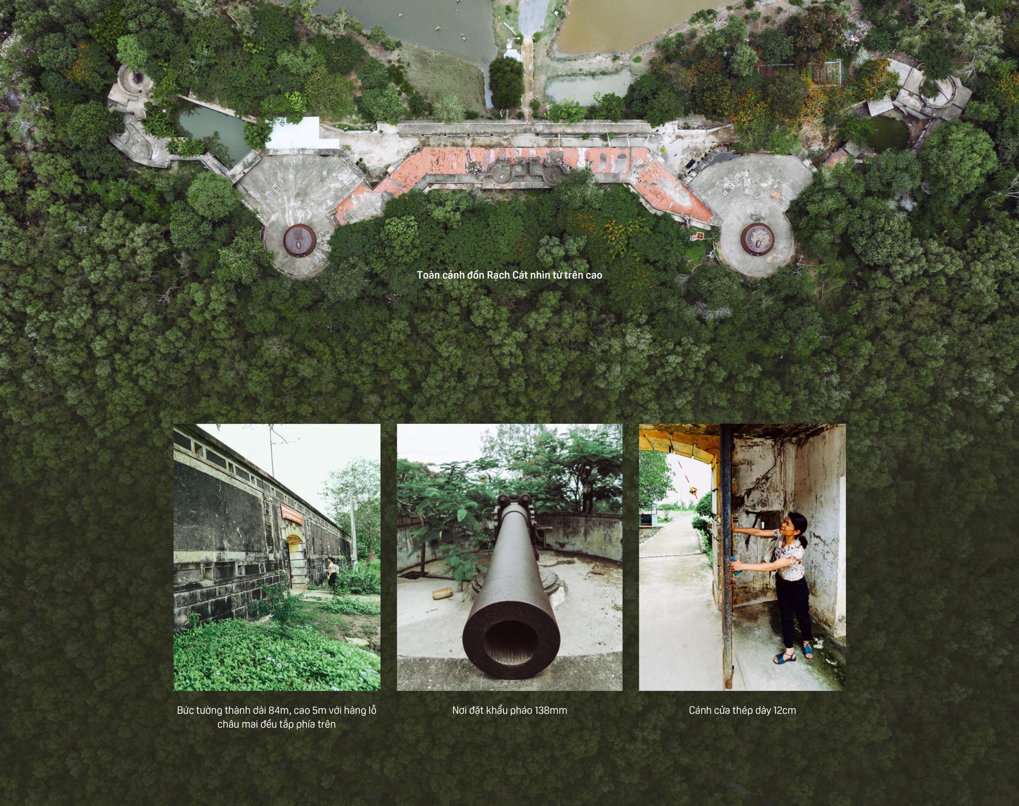 Bên trong Đồn Rạch Cát - pháo đài lớn nhất Đông Dương - Ảnh 12.