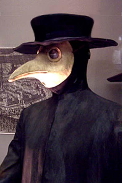 Tại sao bác sĩ tham gia chữa dịch hạch lại mặc đồ đen mang mặt nạ mỏ chim? - Ảnh 2.
