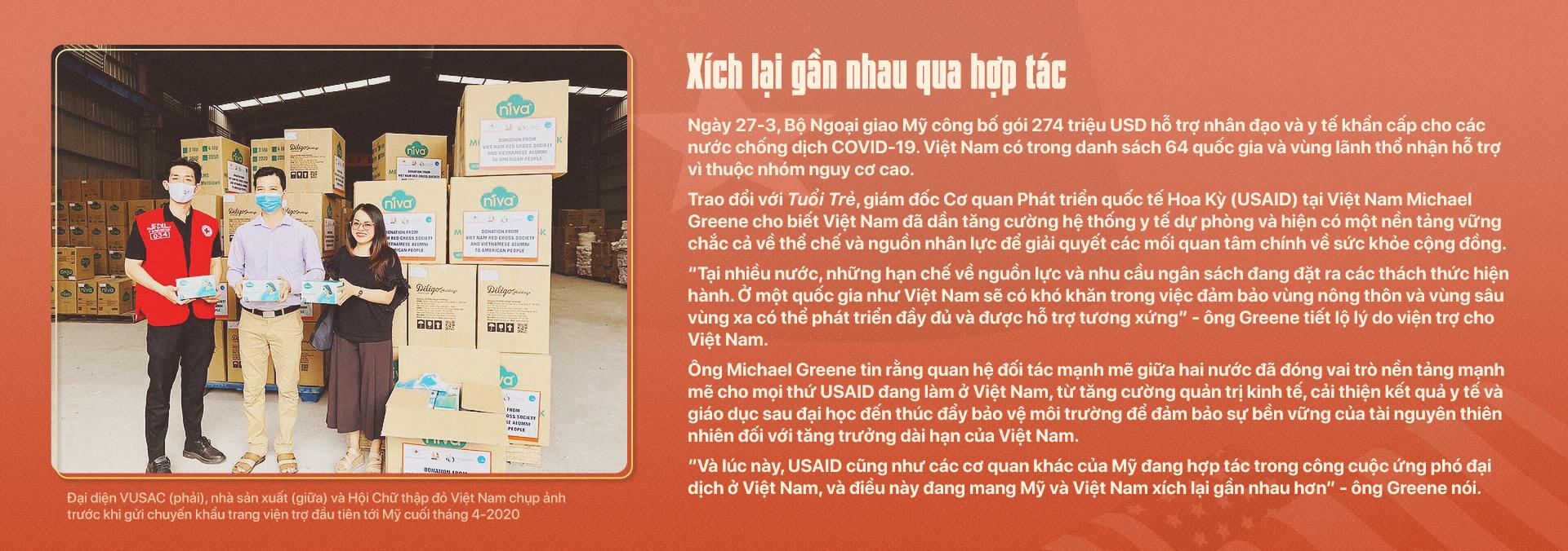 Kỳ 1: Việt - Mỹ hợp tác chống đại dịch - Ảnh 8.