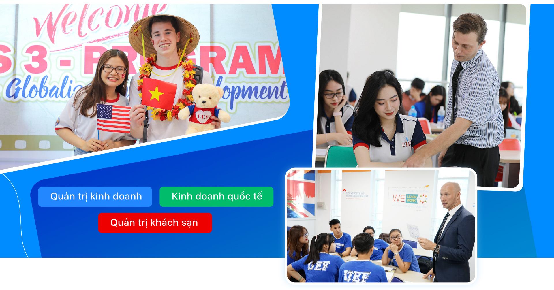 UEF lựa chọn đa dạng từ các chương trình quốc tế uy tín - Ảnh 10.