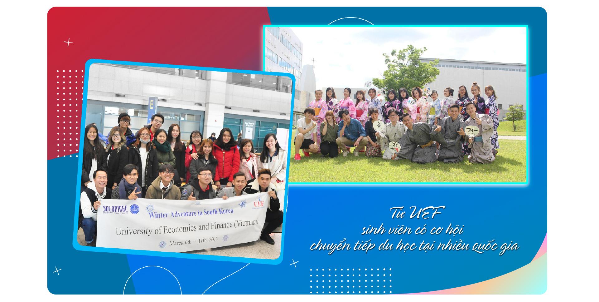 UEF lựa chọn đa dạng từ các chương trình quốc tế uy tín - Ảnh 3.