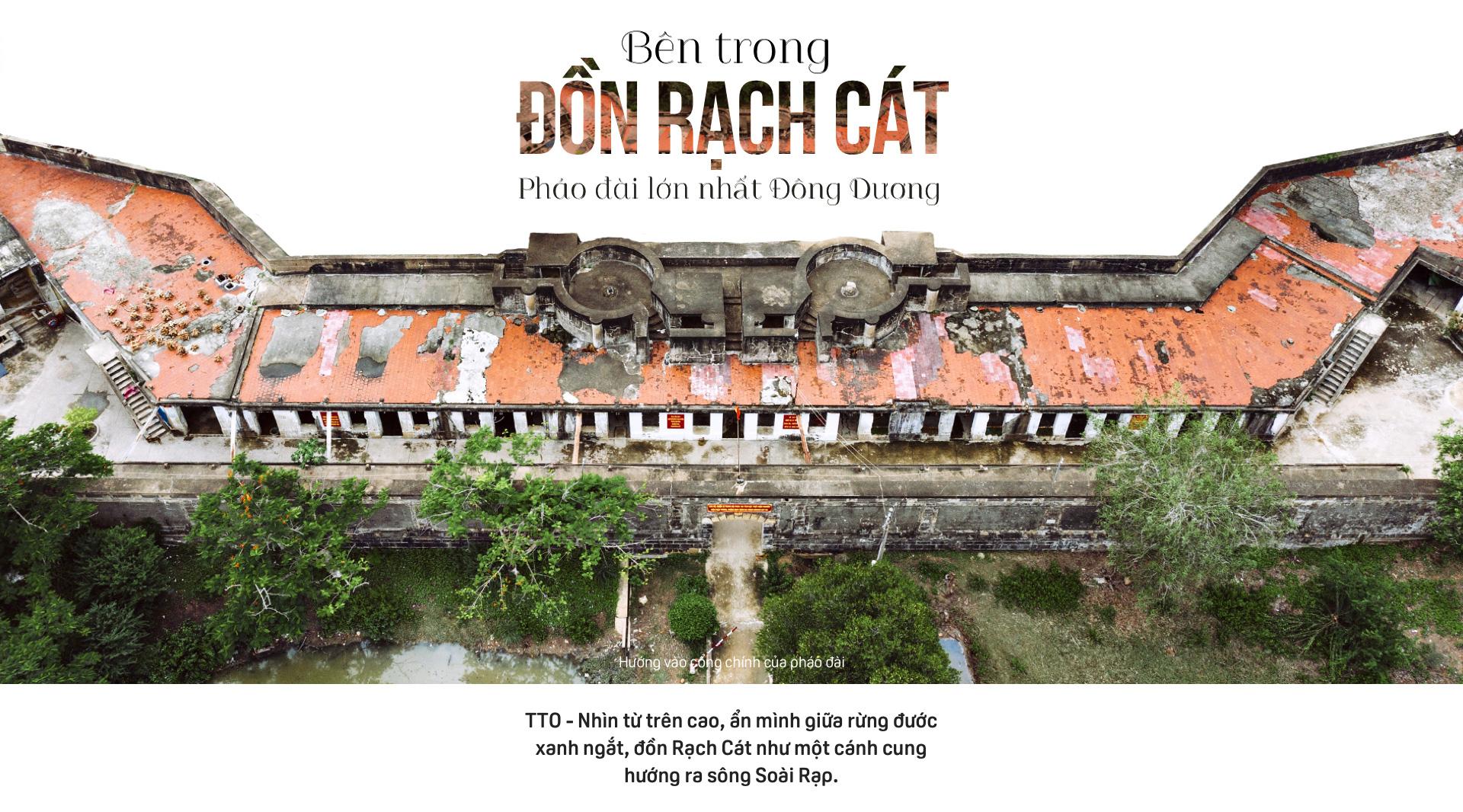 Bên trong Đồn Rạch Cát - pháo đài lớn nhất Đông Dương - Ảnh 1.