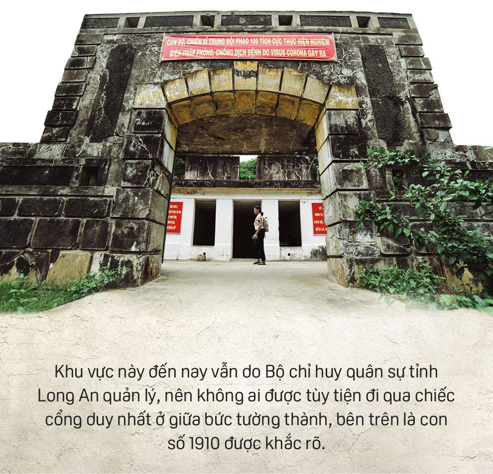 Bên trong Đồn Rạch Cát - pháo đài lớn nhất Đông Dương - Ảnh 3.