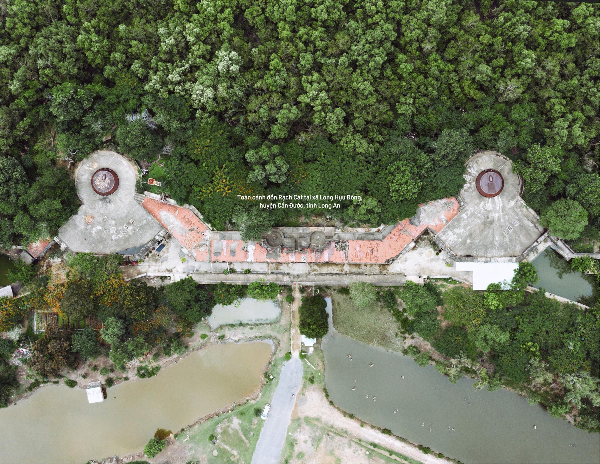 Bên trong Đồn Rạch Cát - pháo đài lớn nhất Đông Dương - Ảnh 4.