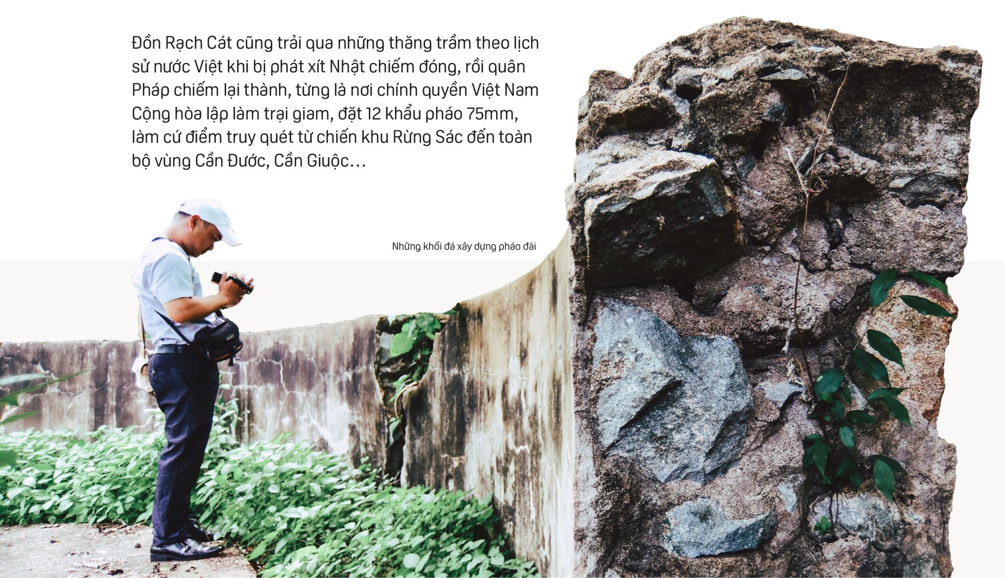 Bên trong Đồn Rạch Cát - pháo đài lớn nhất Đông Dương - Ảnh 9.