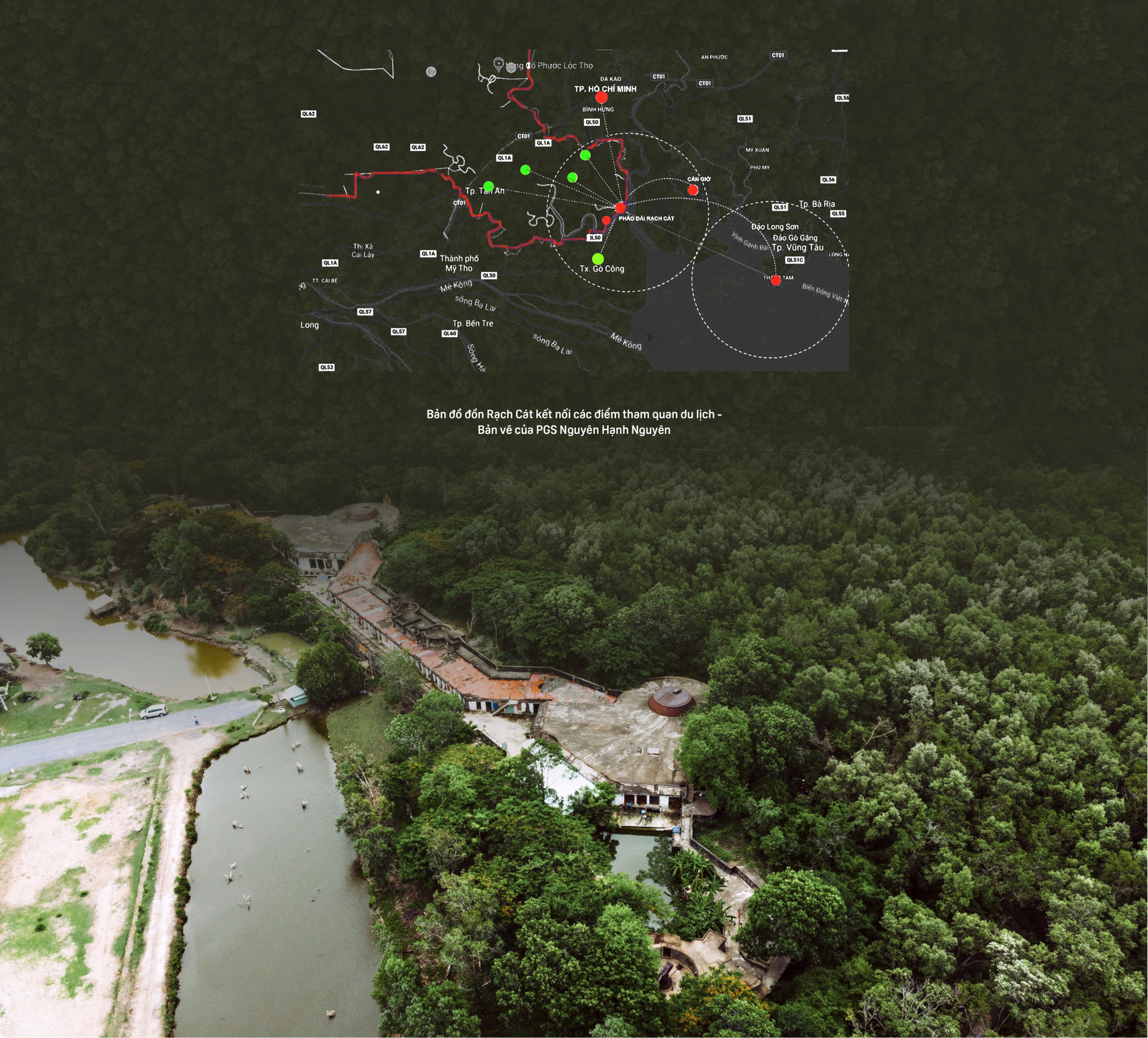 Bên trong Đồn Rạch Cát - pháo đài lớn nhất Đông Dương - Ảnh 15.