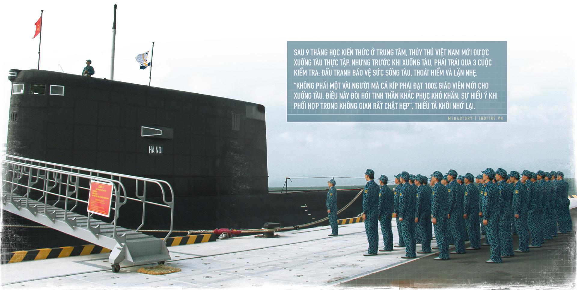 Kíp tàu ngầm đầu tiên của Việt Nam những câu chuyện bây giờ mới kể - Ảnh 4.