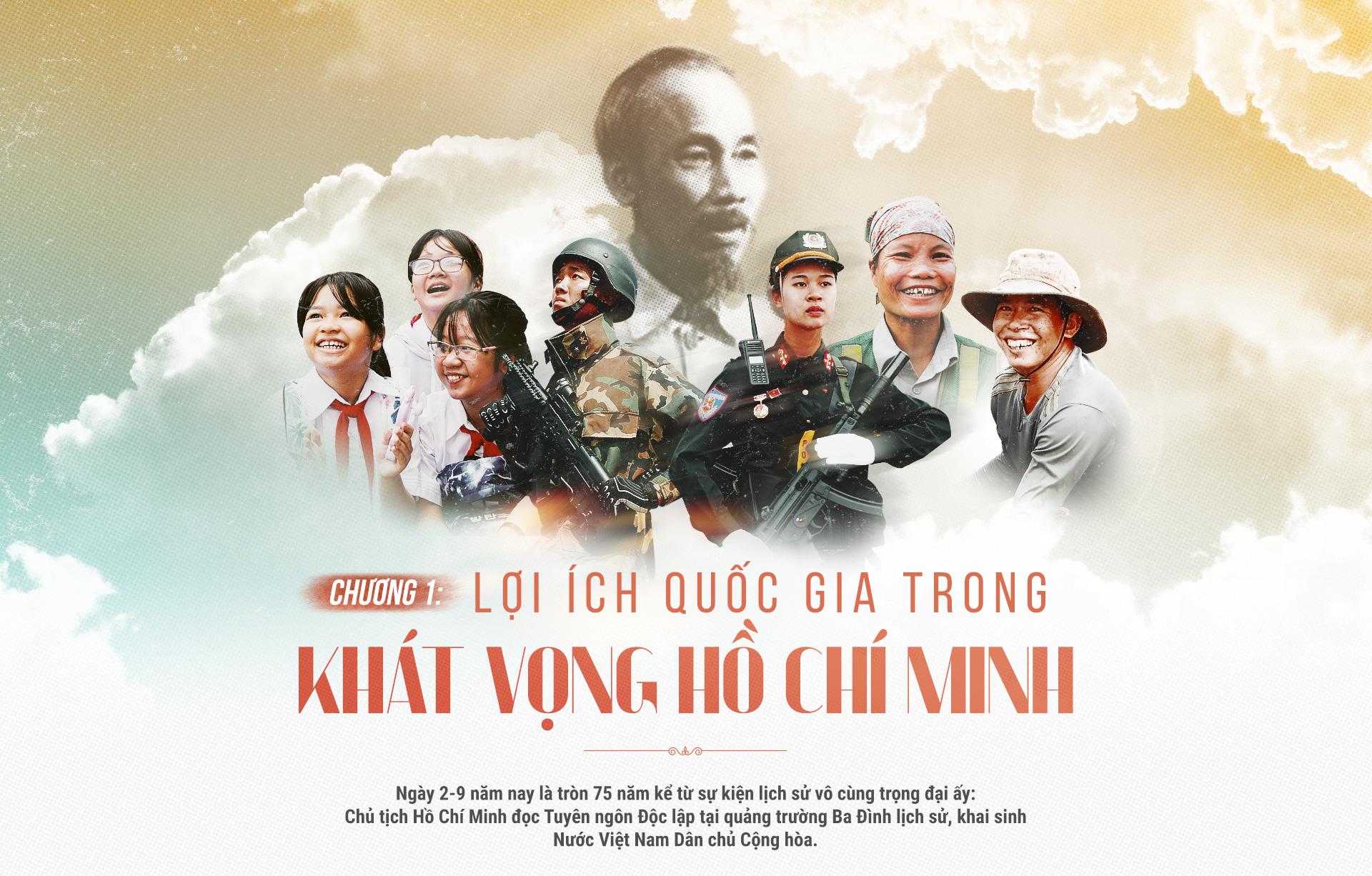 Lợi ích quốc gia trong khát vọng Hồ Chí Minh