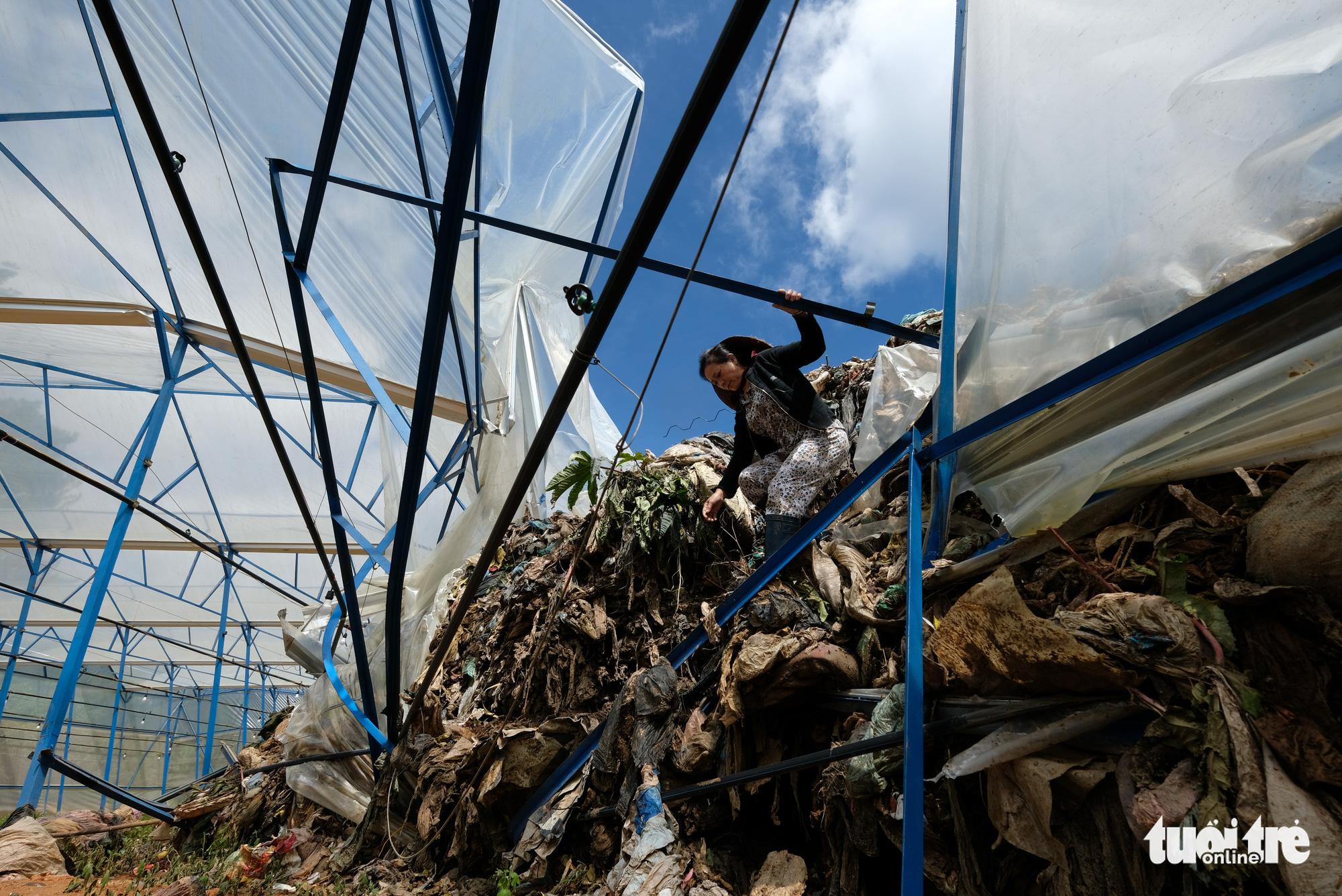 Xóa sổ vĩnh viễn bãi rác Cam Ly - Ảnh 1.
