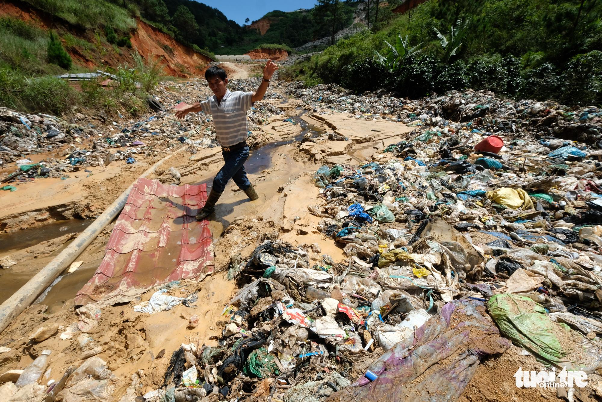Xóa sổ vĩnh viễn bãi rác Cam Ly - Ảnh 2.