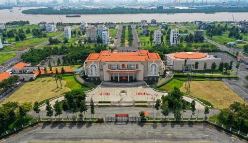Trụ sở UBND quận 2 dự kiến thành trụ sở Thành ủy thành phố Thủ Đức - Ảnh 1.