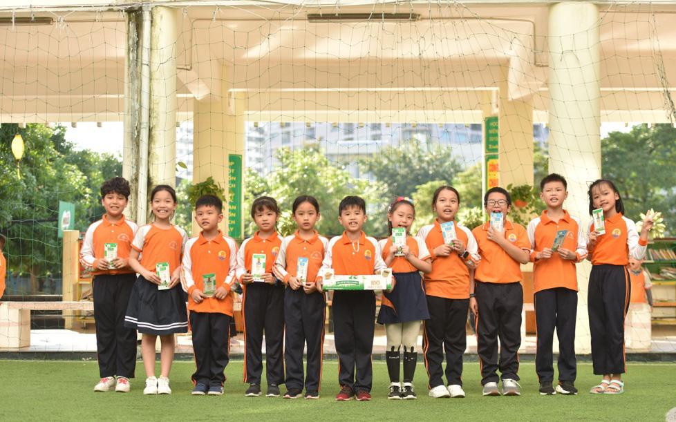 Cuộc thi 'Cùng bé thu gom vỏ hộp giấy' giúp tăng gấp đôi việc thu gom